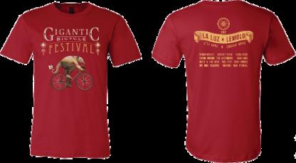 2017 Silk-Screened Festival T-shirt